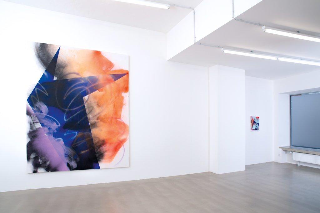 Laura Aberham, Ausstellungsansicht 'Space' – Galerie Rupert Pfab – 2019