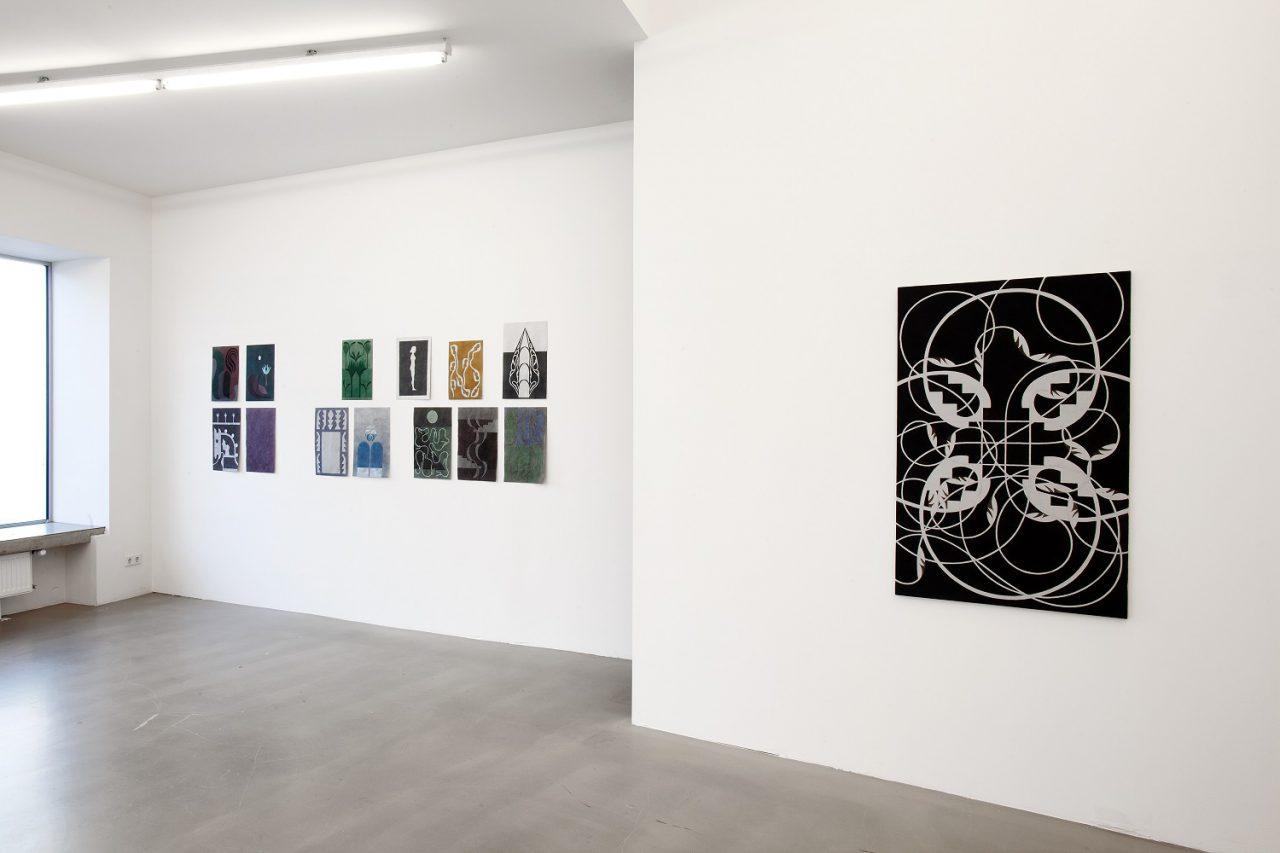 Berthold Reiß – Ausstellungsansicht 'Sphinx'