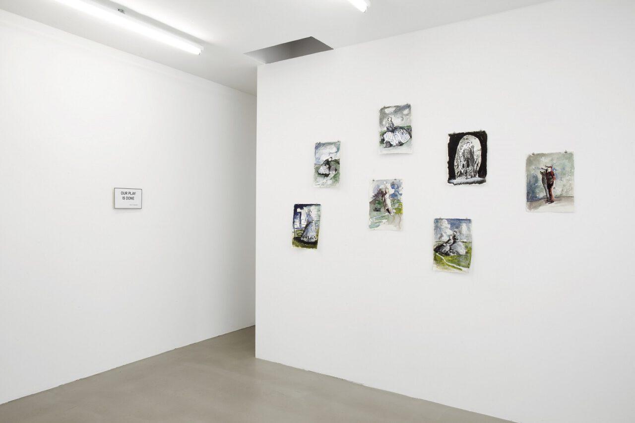 Simone Lucas – Papierarbeiten