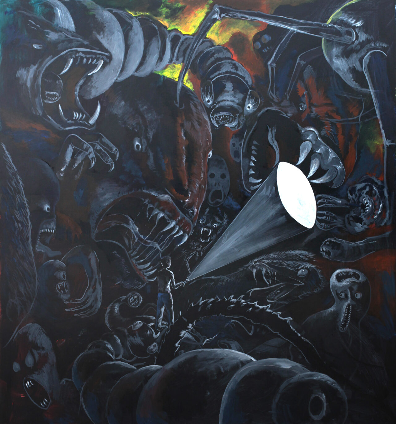 Markus Vater – painting of what is not there
