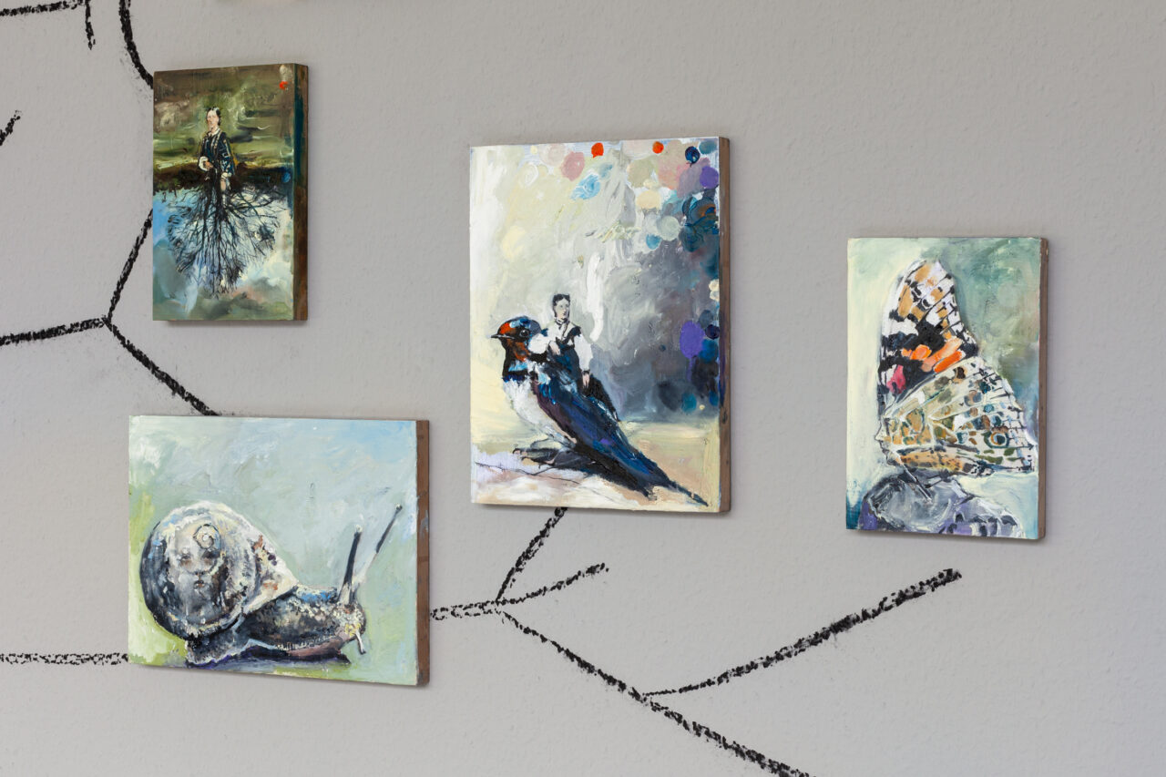 Simone Lucas Neue Galerie Gladbeck Leseraum