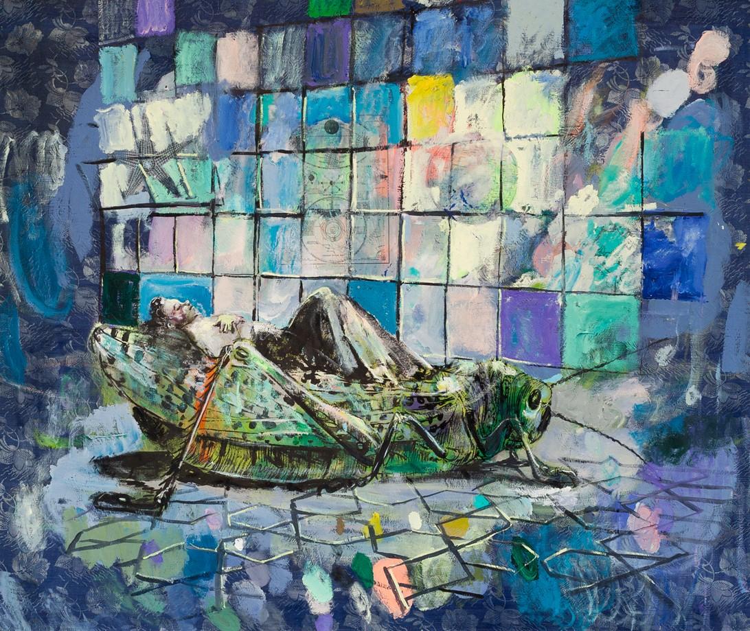 Simone Lucas Neue Galerie Gladbeck Grasshoppers Dream